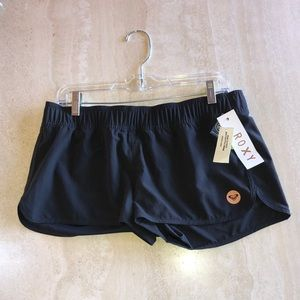 Roxy Black Running Shorts